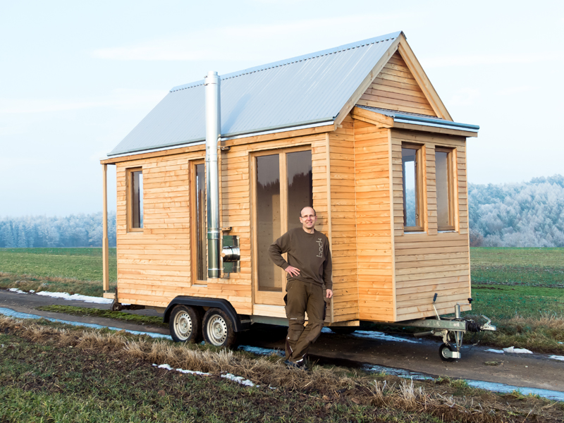 tiny house bauen haus auf rdern fabulous self build part in deutschland